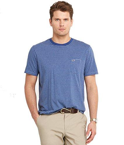 Vineyard Vines Stripe T-Shirt Blue, Small - Blue Vine Stripe
