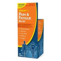 MagniLife Pain & Fatigue Relief - Rapid, Quick Dissolve, Fast-Acting for Muscle Aches, Joint Pain, Stiffness & Fatigue - 125 Tablets