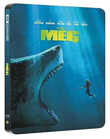 The Meg 3D Limited Edition Steelbook / Import / Includes Region Free 2D Blu Ray: Amazon.es: Cine y Series TV