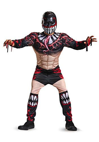 Fin Balor Classic Muscle WWE Costume, Small/4-6 ()