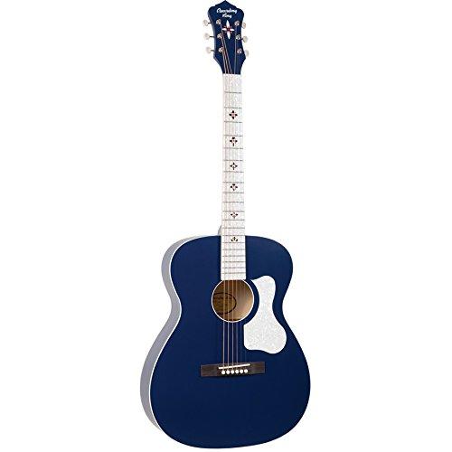 Recording King Century33 Ltd Edition 2 Acoustic Guitar - Wabash Blue