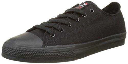 Victoria Zapato Basket Piso Negro - Botas Unisex adulto Negro (Negro)