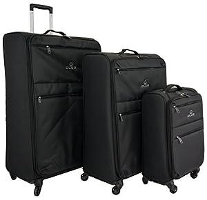 Super Lightweight World lightest 4 wheel Suitcase,Trolley, Spinner ...