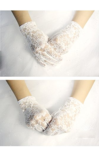vintage white gloves - 4