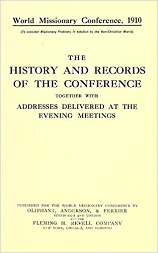 the history and records of the conference together with addresses