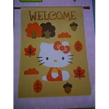 Hello Kitty ~ WELCOME ~ House Flag 28