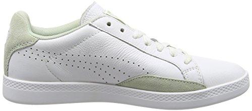 PUMA Match Lo Basic Sports WN's - Zapatillas para mujer Blanco - White (White/Lily Green)