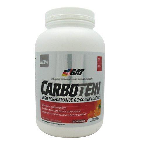 GAT Carbotein - Post-workout - Orange - 1.75 kg (3.85 lbs)