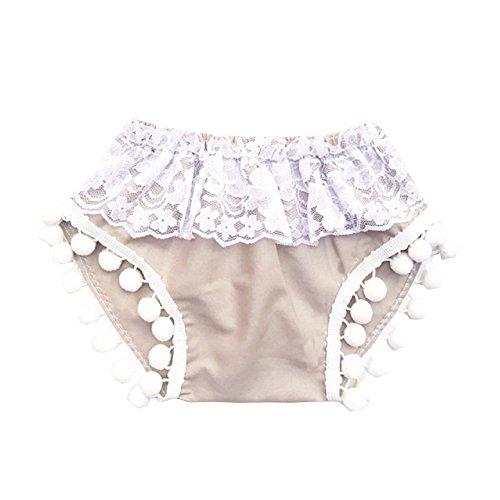 22.5' 1 Light (Cute Baby Girls Solid Off Shoulder Elastic Fashion Blouse + Bow Headband 2pcs (80cm (1-2T), Light-Khaki (Only shorts)))