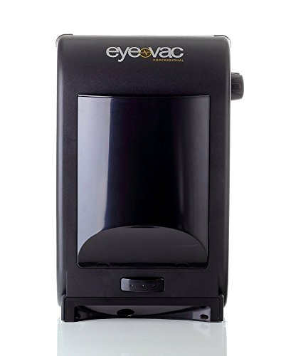Eye-Vac EVPRO Tuxedo Black Touchless Stationary Vacuum - 1400 Watts Professional Vacuum with HEPA Filtration, Bag-less Canister. Floor Care (Renewed) ()