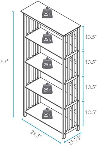 home, kitchen, furniture, home office furniture,  bookcases 12 discount Casual Home Mission Style 5-Shelf Bookcase, Espresso promotion