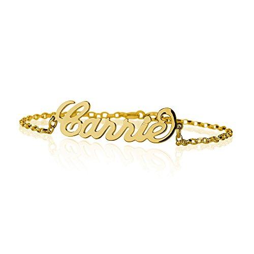 Gold Name Bracelet - 1