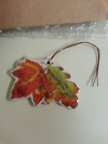 Longaberger Fall Foliage Leaves Basket Tie On New In Box Pottery