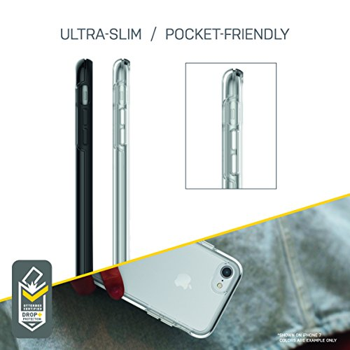 OtterBox SYMMETRY CLEAR SERIES Case for iPhone 8 & iPhone 7 (NOT Plus) - Retail Packaging - CLEAR