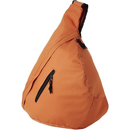 Bolso bandolera de hombro triángulo mochila en azul real naranja