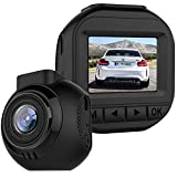 HD Dash Cam, Car Dashcams Mini Front Cameras 1.5'' LCD for Cars and Trucks Recorder Night Vision Support 128GB Memory Card