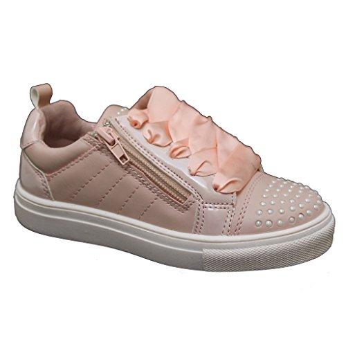 XTI Zapato Metalizado con Cordones