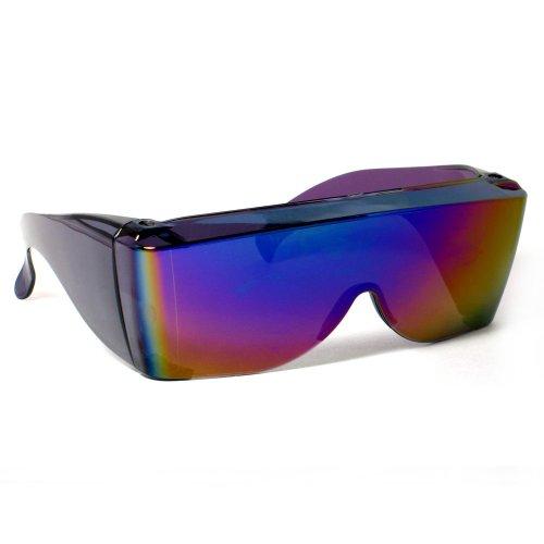 Rodeo M2 Fit Over Prescription Rx No Blind-spot Driver Day & Night Wrap Around Sunglasses