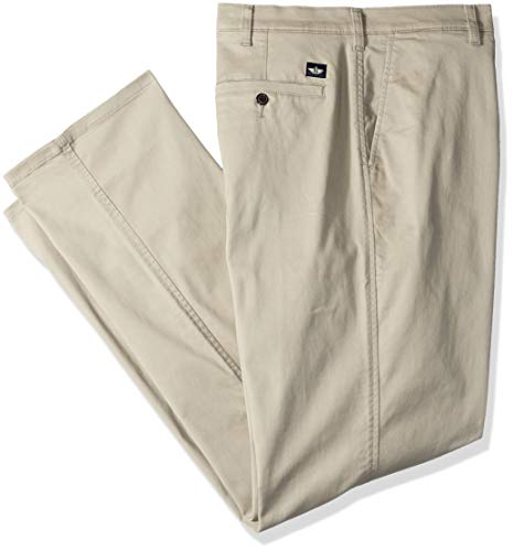 Dockers Men's Big and Tall Classic Fit Original Khaki Pants, Dockers Khaki, 48 32