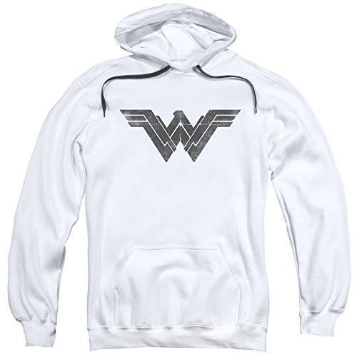 Trevco Men's Batman V Superman Folded and Distressed Adult Hoodie at Gotham City Store