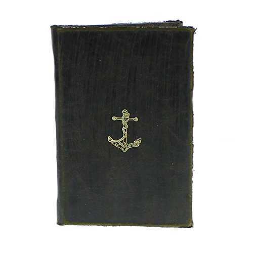 Maritime Embossed Journal - Anchor - Sold in Case Pack of 2 from My Swanky Home