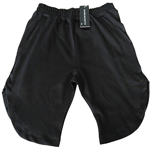 377ee2a6d89 Amazon.com  EVERWORTH Men s Gym Workout Shorts Running Short Pants Fitted  Training Bodybuilding Jogger Zipper Pockets 3 Colors  Clothing