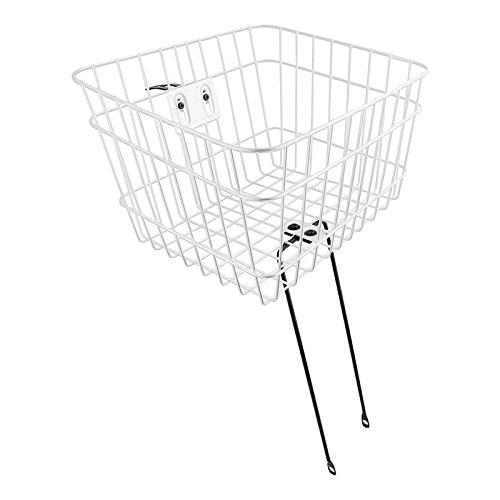 Sunlite Large Basket w/ Fixed Struts, White