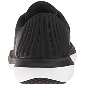 NIKE Women's Flex Supreme TR 5 Cross Training Shoe, Black/White/Pure Platinum, 7.5 B(M) US