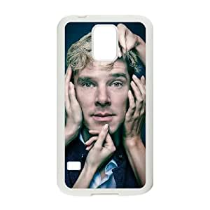 Benedict Cumberbatch 001 Samsung Galaxy S5 Cell Phone Case White Protective Cover