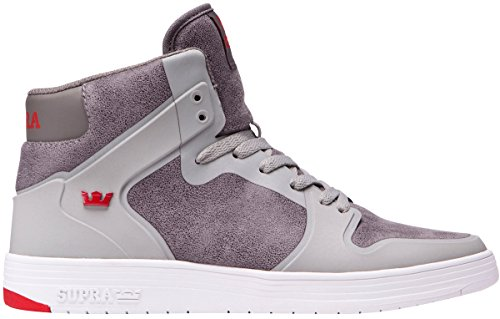 Supra Men's Vaider 2.0 Shoes Size,11,Ghost Grey/White