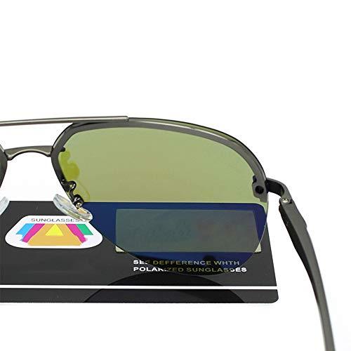 Conducción Hombres FKSW Hombres Gafas Hombre De De Espejo Y Polarizadas Pesca Hembra Gafas Sol para Magnesio Gafas De Aluminio De De Sol Sol Gafas pxwPr6pgq