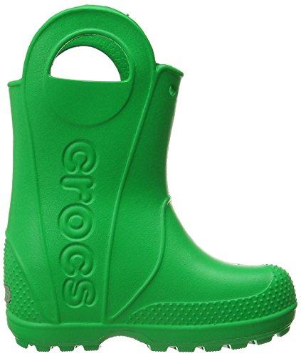 Crocs Kids' Handle It Rain Boot,grass Green,3 M Us Little Kid
