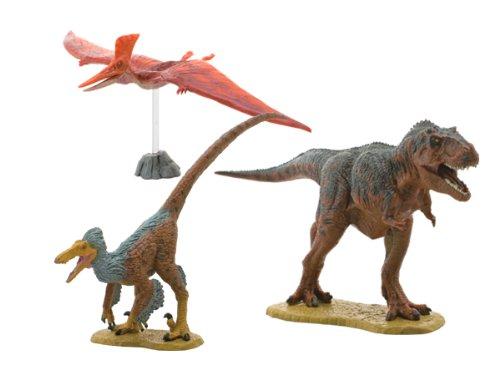 by Febaritto Favorite FDW-101 6pcs Soft Vinyl model Dinosaur Soft Model Set A