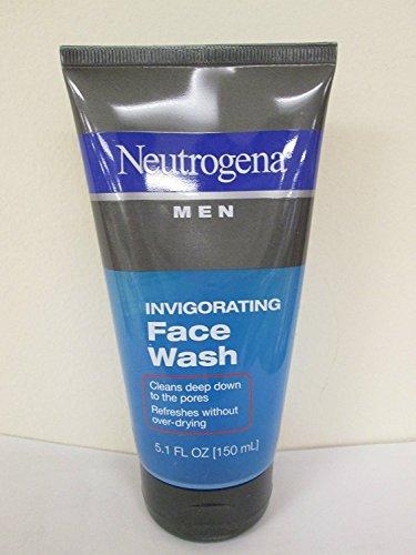 Neutrogena Men Invigorating Face Wash 5.1 oz (Pack of 2)