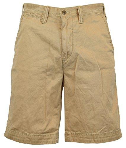 Polo Ralph Lauren Men's Relaxed Fit Flat Front Surplus Shorts - 40 - Montana Khaki