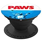 Paws Cat and Mouse pop socket Cute Funny Cat Lover grip - PopSockets Grip and Stand for Phones and Tablets