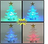 USB Powered Miniature Christmas Tree Multicolor LEDs (LED Christmas Tree)
