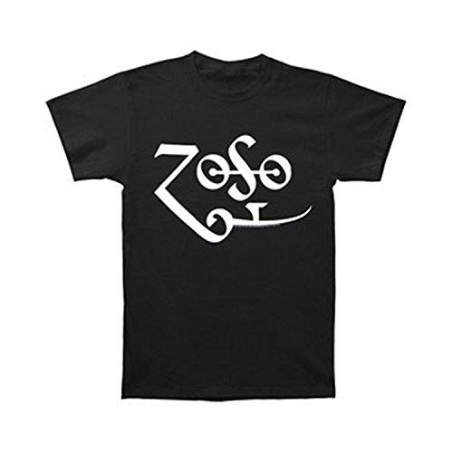 [Led Zeppelin Zoso Logo Men's T-Shirt (Small)] (Led Zeppelin Zoso T-shirt)