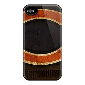 Slim Fit Tpu Protector Shock Absorbent Bumper Chicago Bears Case For Iphone 4/4s