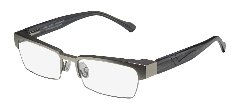 Harry Lary's Idoly Mens/Womens Optical Glamorous Designer Half-rim Strass Flexible Hinges Eyeglasses/Glasses
