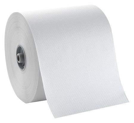 White Paper Towel Roll 7″W x 800'L, 6 Rolls