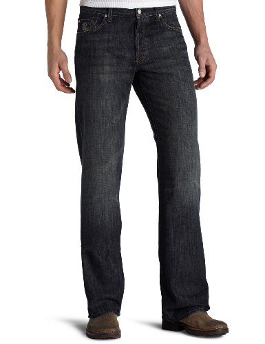 (7 For All Mankind Men's Relaxed Straight-Leg Jean in Montana, Montana, 29)