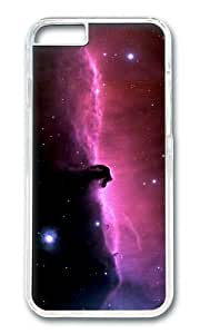 MOKSHOP Adorable horsehead nebula Hard Case Protective Shell Cell Phone Cover For Apple Iphone 6 (4.7 Inch) - PC Transparent