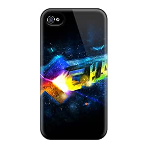 New Style Tpu 4/4s Protective Case Cover/ Iphone Case - Abstract 3d
