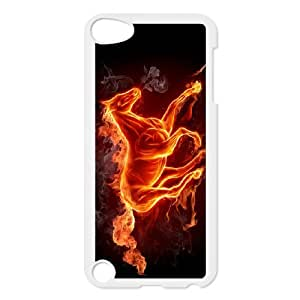 Ipod Touch 5 Flame Phone Back Case Art Print Design Hard Shell Protection HG061353
