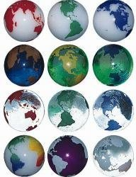 - Planet on Earth Marble Set Of 3