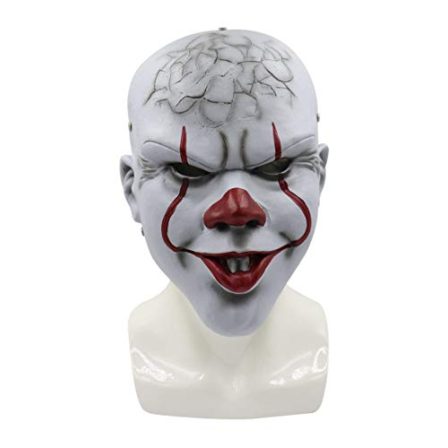 Pennywise Mask, Stephen King's It Chapter Two