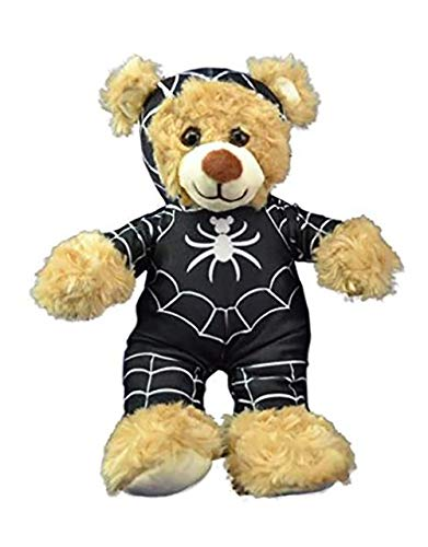 Black Spider Morph Suit Teddy Bear Clothes Outfit Fits Most 8