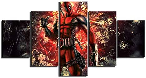 DEADPOOL MARVEL COMIC LARGE CANVAS READY TO HANG
