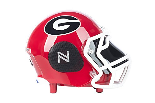 Bulldogs College Football (NCAA Football Georgia Bulldogs Wireless Bluetooth Speaker. Officially Licensed Portable Helmet Speaker by NCAA College Football - Small)